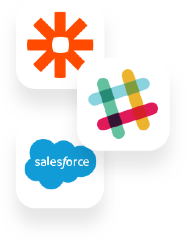 Slack, Zapier and Salesforce group